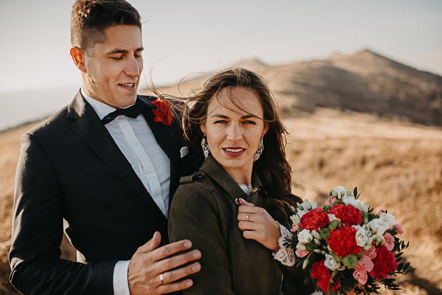 sesja ślubna w górach, sesja w bieszczadach